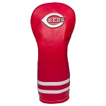 Cincinnati Reds Vintage Fairway Head Cover Golf Gift