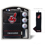 Cleveland Indians Embroidered Gift Set Golf Gift