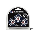 Cleveland Indians MLB Poker Chip Gift Set Golf Gift