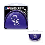 Colorado Rockies Mallet Putter Cover Golf Gift