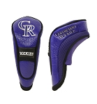 Colorado Rockies Hybrid Head Cover Golf Gift