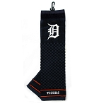 Detroit Tigers Embroidered Towel Golf Gift