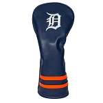 Detroit Tigers Vintage Fairway Head Cover Golf Gift