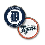 Detroit Tigers Double Sided Ball Marker Golf Gift