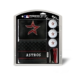 Houston Astros Embroidered Gift Set Golf Gift
