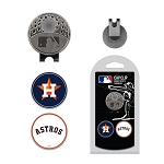 Houston Astros 2 Marker Cap Clip Golf Gift