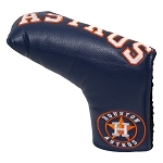 Houston Astros Vintage Blade Putter Cover Golf Gift