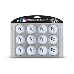 Kansas City Royals Dozen Pack Balls Golf Gift