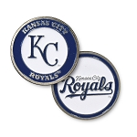 Kansas City Royals Double Sided Ball Marker Golf Gift