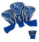 Kansas City Royals Contour Set of 3 Headcovers Golf Gift