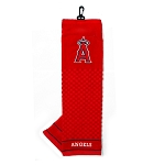 Los Angeles Angels Embroidered Towel Golf Gift