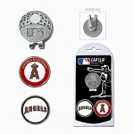 Los Angeles Angels 2 Marker Cap Clip Golf Gift