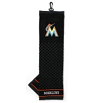 Miami Marlins Embroidered Towel Golf Gift