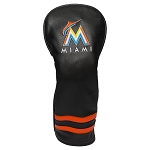 Miami Marlins Vintage Fairway Head Cover Golf Gift