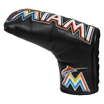 Miami Marlins Vintage Blade Putter Cover Golf Gift