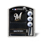 Milwaukee Brewers Embroidered Gift Set Golf Gift