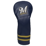 Milwaukee Brewers Vintage Fairway Headcover Golf Gift