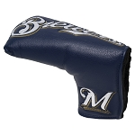 Milwaukee Brewers Vintage Putter Cover Golf Gift