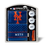 New York Mets Embroidered Gift Set Golf Gift