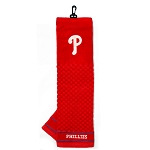 Philadelphia Phillies Embroidered Towel Golf Gift