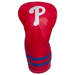 Philadelphia Phillies Vintage Driver Head Cover Golf Gift