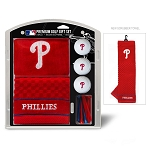 Philadelphia Phillies Embroidered Gift Set Golf Gift