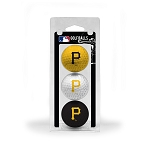 Pittsburgh Pirates 3 Ball Clamshell Golf Gift