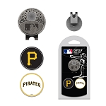 Pittsburgh Pirates 2 Marker Cap Clip Golf Gift