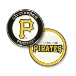 Pittsburgh Pirates Double Sided Ball Marker Golf Gift
