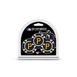 Pittsburgh Pirates MLB Poker Chip Gift Set Golf Gift