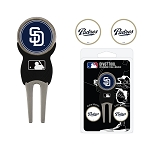 San Diego Padres Divot Tool Set of 3 Markers Golf Gift