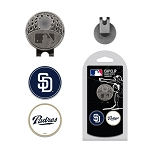 San Diego Padres 2 Marker Cap Clip Golf Gift