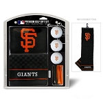 San Francisco Giants Embroidered Gift Set Golf Gift