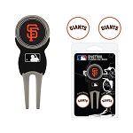 San Francisco Giants Divot Tool Set of 3 Markers Golf Gift
