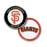 San Francisco Giants Double Sided Ball Marker Golf Gift