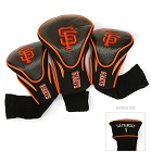 San Francisco Giants MLB Set Of 3 Contour Head Covers Golf Gift
