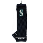 Seattle Mariners Embroidered Towel Golf Gift