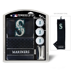 Seattle Mariners Embroidered Gift Set Golf Gift