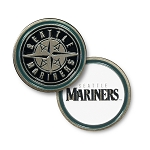 Seattle Mariners Double Sided Ball Marker Golf Gift