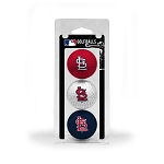 St. Louis Cardinals 3 Ball Clamshell Golf Gift