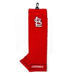 St. Louis Cardinals Embroidered Towel Golf Gift