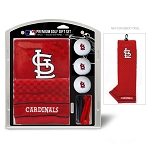 St. Louis Cardinals Embroidered Gift Set Golf Gift