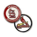 St. Louis Cardinals Double Sided Ball Marker Golf Gift