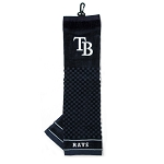 Tampa Bay Rays Embroidered Towel Golf Gift