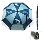 Tampa Bay Rays Umbrella Golf Gift