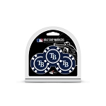 Tampa Bay Rays MLB Poker Chip Gift Set Golf Gift