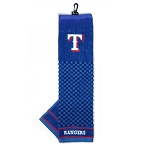 Texas Rangers Embroidered Towel Golf Gift