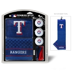 Texas Rangers Embroidered Gift Set Golf Gift