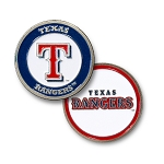 Texas Rangers Double Sided Ball Marker Golf Gift