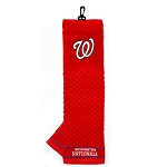 Washington Nationals Embroidered Towel Golf Gift